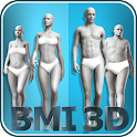 BMI 3D (3D BMI Calculator) icon