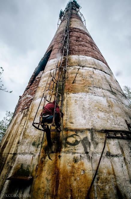 Труба, высотой больше 100 метров