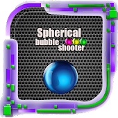 Bubble shooter - sphere