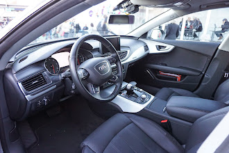 Photo: Interior of Jack, the autonomous Audi