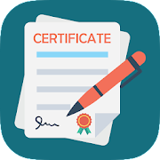 All Certificate Maker - Templates and Design ideas icon