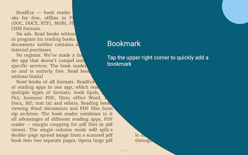 ReadEra - book reader pdf, epub, word 19.12.27+1120 screenshots 15