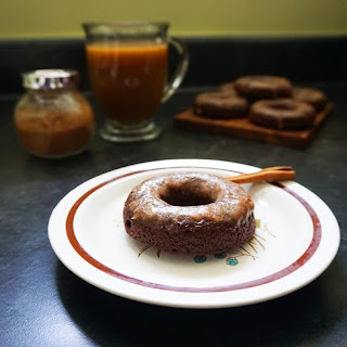 Mexican Hot Chocolate Brownie Donuts