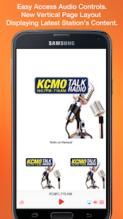 KCMO 710 AM- screenshot thumbnail