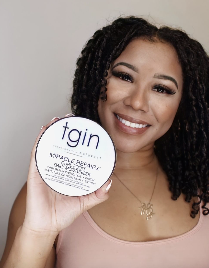 The Honest Goddess | Promoting a hair product | Microinfluencers featured on Afluencer