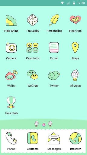 無料个人化Appの夏の一番‐レモネード ‐Holaテーマ|HotApp4Game