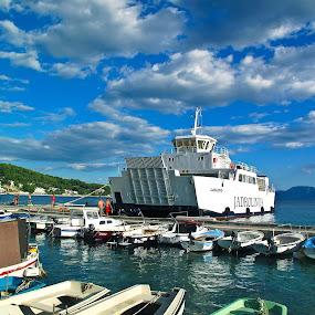 Ferry Laslovo by Vladimir Krizan - Transportation Other
