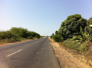 Photo: Typical Senegal road