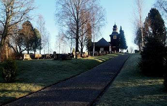 Photo: Pomarkun vanha kirkko