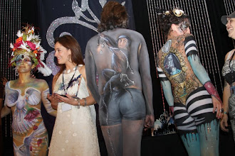 Photo: Paola Gallardo from http://www.BestPartyPlanner.net Award Ceremony for Body  Painting at Face and Body Art International Convention Orlando Florida
