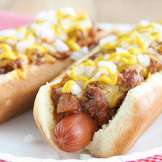 Coney Island Hot Dogs.