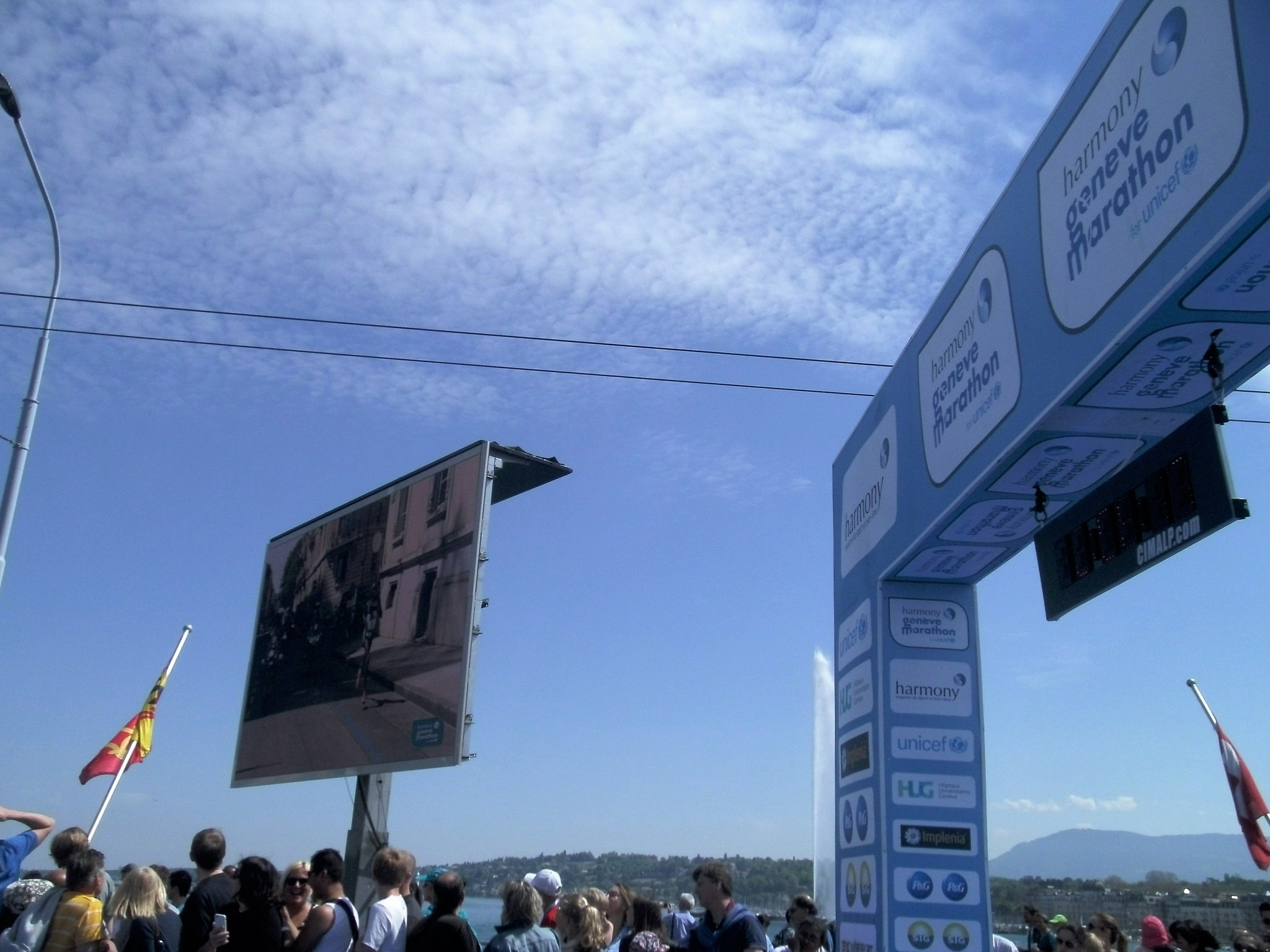 Halve marathon Genève (Le petit requin)