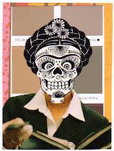 Photo: Wenchkin's Mail Art 366 - Day 174, card 174a