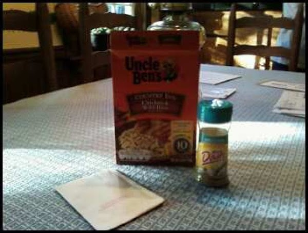 I used Uncle Ben's Rice, but I did not use the seasoning packet because...