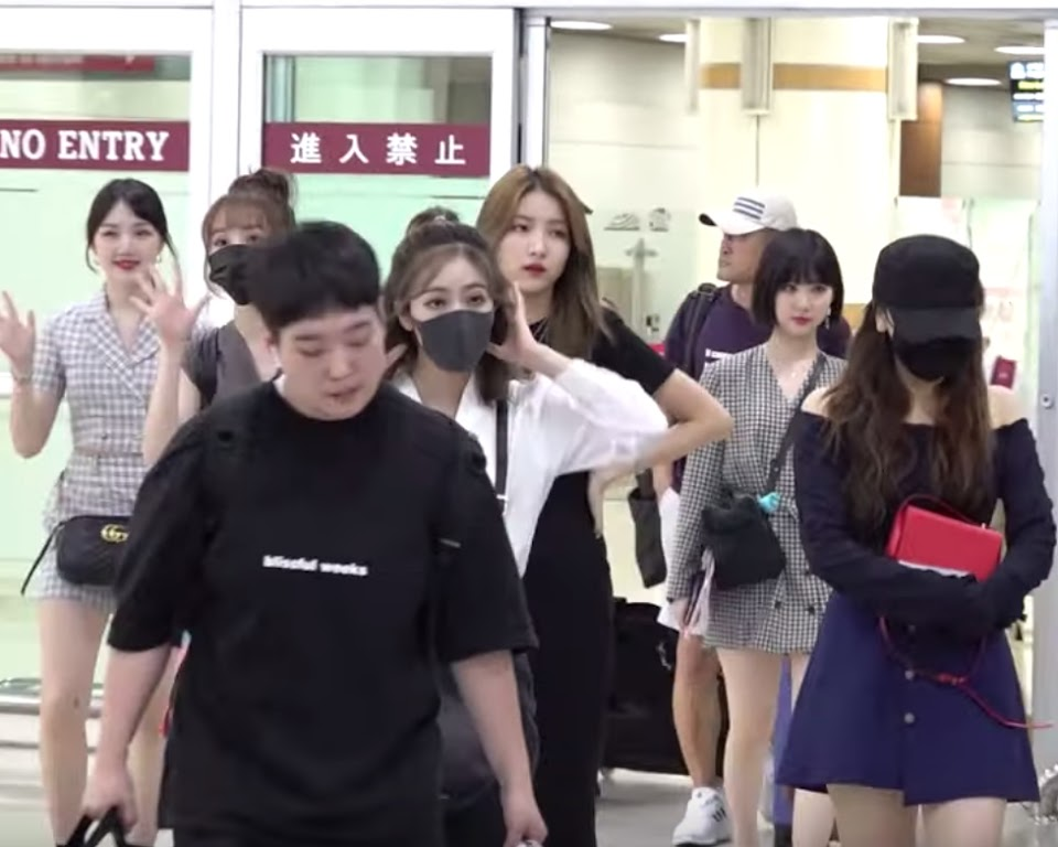 gfriend manager scared 5