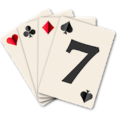 Sevens Playing Cards Game