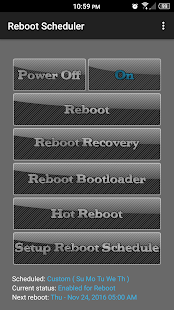 Reboot Scheduler- screenshot thumbnail