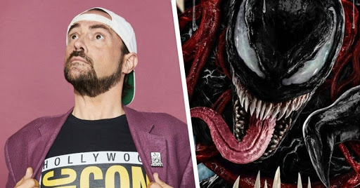 Kevin Smith Reacts to Venom 2 Trailer, Ready to Return to Theaters