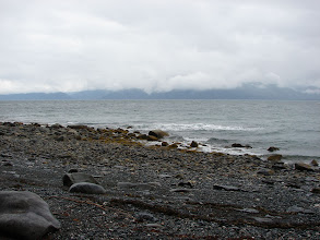 Photo: Lynn Canal looking west from Point Sherman.