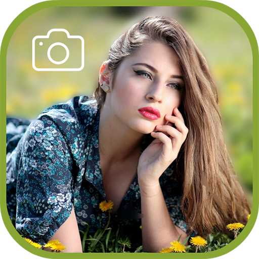 Deep Blur Photo Background: DSLR Image Effect Icon