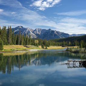 Cascade Ponds by Mike Mulligan - Landscapes Waterscapes ( water, canada, cascade ponds, outdoors, banff,  )