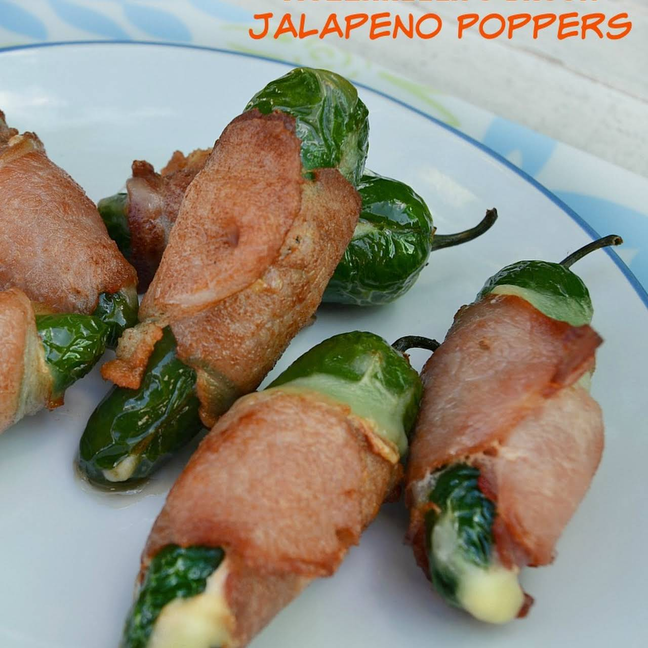 Mozzarella and Bacon Jalapeno Poppers