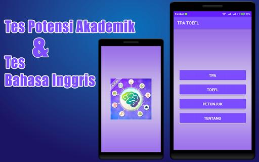 Tes Potensi Akademik & Tes Bahasa Inggris 1.0.1 screenshots 1