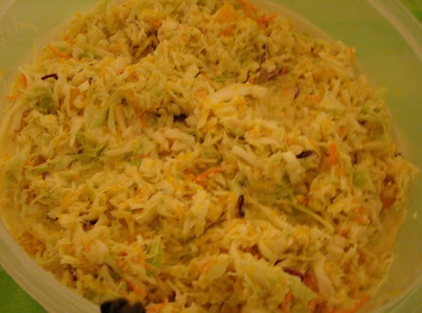 Hawaiian Coleslaw Recipe