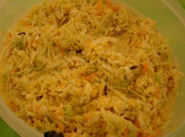 Hawaiian Coleslaw Recipe