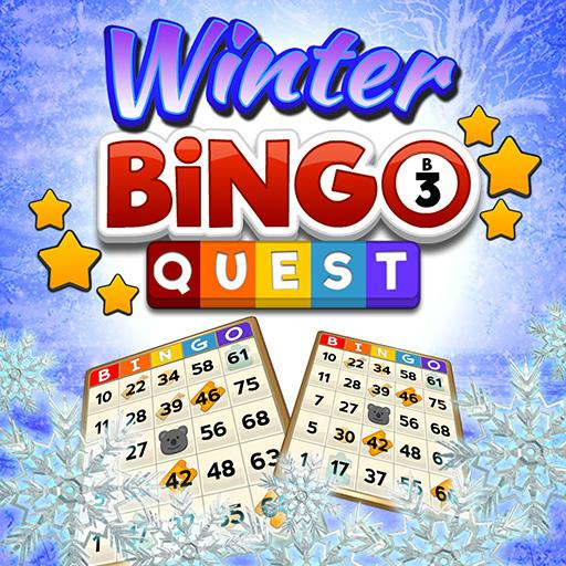 Bingo Quest Winter Wonderland Garden
