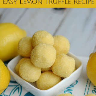 Easy Lemon Truffle