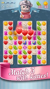 Knittens: A Fun Match 3 Game MOD (Unlimited Gems/Coins/Lives) 3