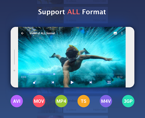 Full HD Video Player - Video Player HD 1.0.4 screenshots 1