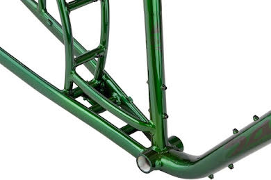 Salsa Blackborow Fat Bike Frame - Aluminum Green alternate image 3