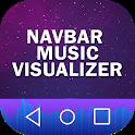 Music Visualizer on Navbar icon