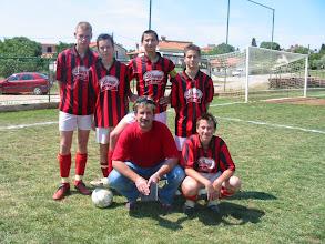 Photo: 2005 Pioniri - izlazni 11.6.2005. Na Campu sa trenerom
