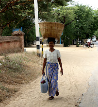 Photo: Year 2 Day 57 - Local Lady in Bagan