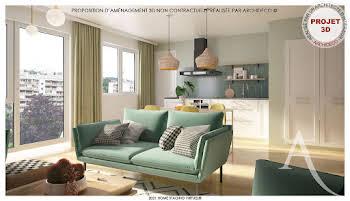 Appartement 4 pièces 100,07 m2
