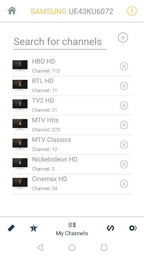 Samsung TV Remote 8.9.14 screenshots 3
