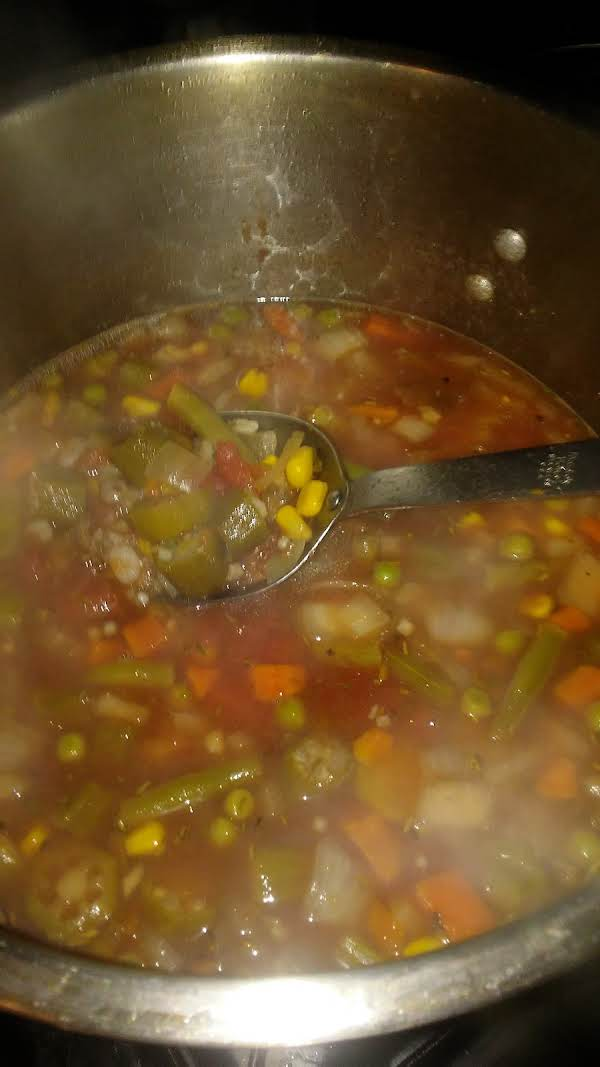 Batch Of Veggie Comfort It Warms The Soul