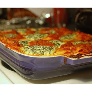 Spicy Italian Lasagna.