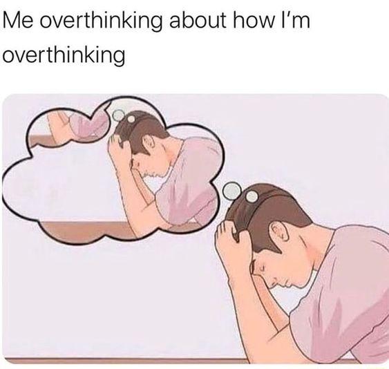 tips berhenti overthinking