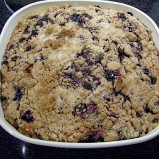 Worlds best BLUEBERRY BUCKLE Coffee Cake (By Freda