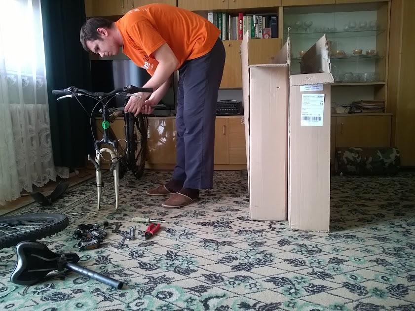Pakowanie rowerów