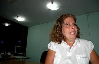Photo: olga salanueva, wife of cuban agent jailed in the united states. Tracey Eaton photo