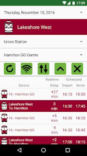 GO Transit Live - náhled