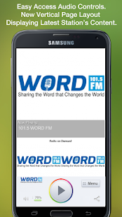 101.5 WORD FM - screenshot thumbnail