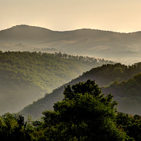 Tuscan Hillsides by Doug Faraday-Reeves - Landscapes Mountains & Hills ( tuscany, italy )