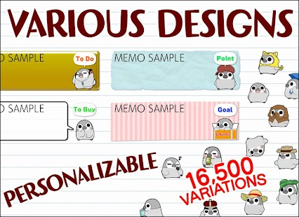Pesoguin Memo Pad Penguin note- screenshot thumbnail