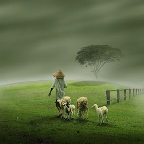 Sunyi by Eli Supriyatno - Digital Art People